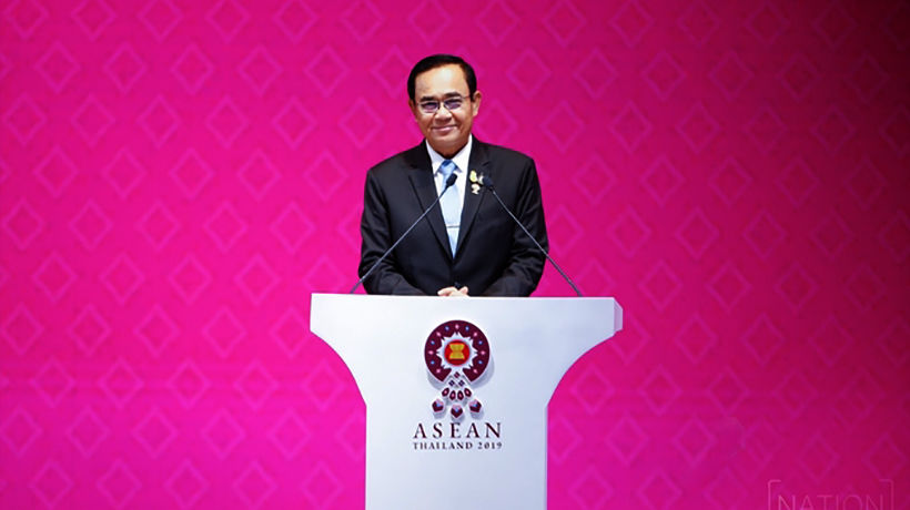 Thai PM opens ASEAN Summit in Bangkok amid world economic tensions